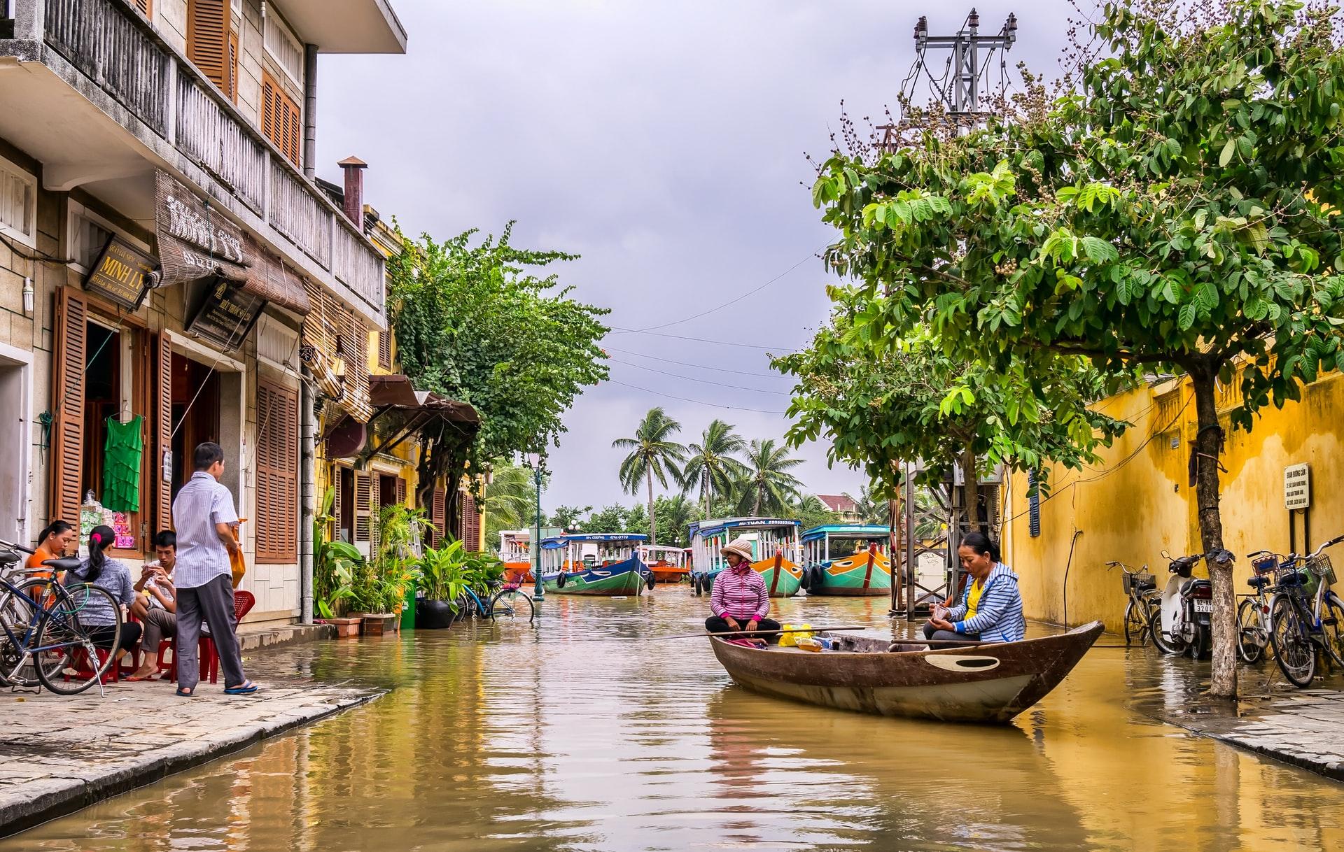 Vietnamese town